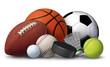 Leinwanddruck Bild - Sports Equipment