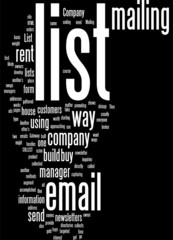 Have a Mailing List of Your Own Concept