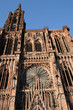 the cathedral of Strasbourg in Alsace