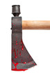 Blood Covered Axe Blade