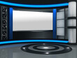 3d studio tv virtual set