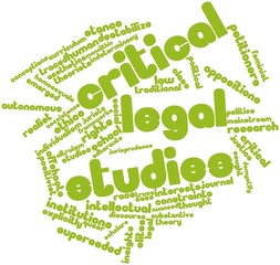 Word cloud for Critical legal studies