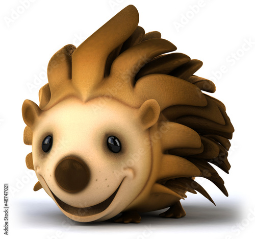Fun hedgehog