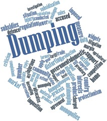 Word cloud for Dumping