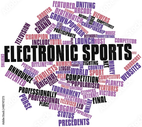 Word cloud for Electronic sports