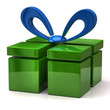 Green gift icon