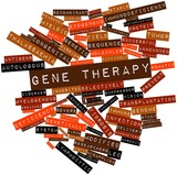 Word cloud for Gene therapy
