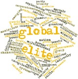 Word cloud for Global elite