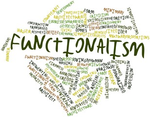 Word cloud for Functionalism