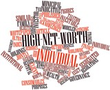 Word cloud for High-net-worth individual