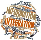 Word cloud for Information integration