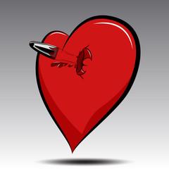 сердце и пуля