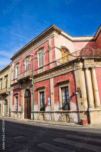 De Paolo Palace. Galatone. Puglia. Italy.