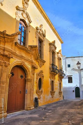 Tafuri palace. Gallipoli. Puglia. Italy.