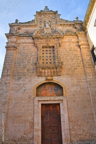 Church of St. Giovanni Battista. Galatone. Puglia. Italy.