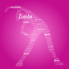 Nuage de Mots : Zumba Girl