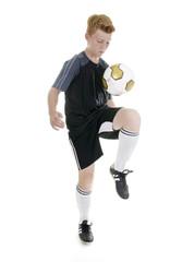 Fußball Technik – jonglieren und danteln