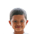 Cute, smart, happy and handsome indian boy(kid) smiling and look