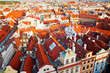 Prague Houses From Above