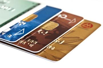 Plusieurs cartes bancaire