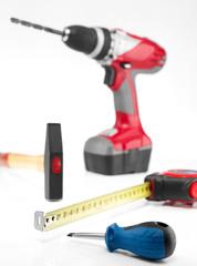 Werkzeugcollage