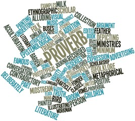 Word cloud for Proverb