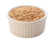Sesame Seeds Isolated with clipping path