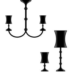 set lampade