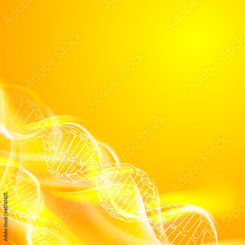 DNA magic figures.