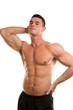 sexy muscular male torso