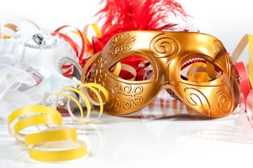 maschera veneziana closeup