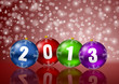 2013 new years vector illustration
