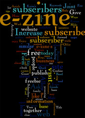 5 Quick Ways To Increase Your E zine s Subscriber Base Concept