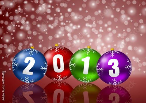 2013 new years vector illustration