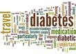 5 Diabetes Travel Tips Concept
