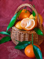 Mandarines.