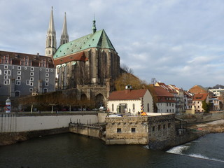 Blick auf Görlitz