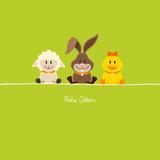 Schaf, Hase & Ente