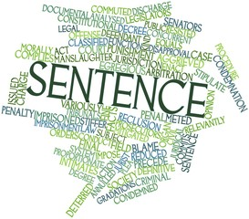 Word cloud for Sentence