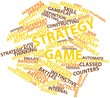Word cloud for Strategy game