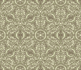 Seamless vintage vector texture
