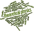 Word cloud for Theoretical physics