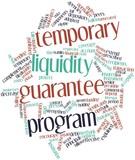 Word cloud for Temporary Liquidity Guarantee Program poster