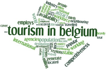 Word cloud for Tourism in Belgium