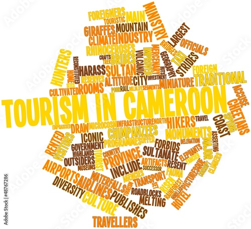 Word cloud for Tourism in Cameroon