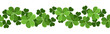 St. Patrick's day vector seamless background with shamrock. - 48767479
