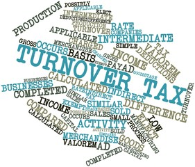 Word cloud for Turnover tax