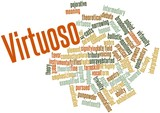 Word cloud for Virtuoso