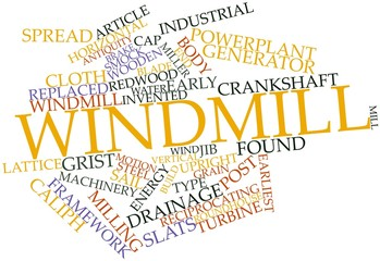 Word cloud for Windmill