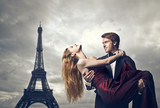 Fototapety love in Paris
